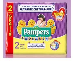 PAMPERS PROGRESSI MINI