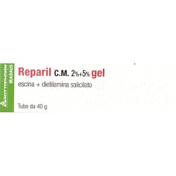 REPARIL gel 2% + 5%
