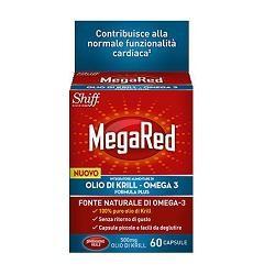 MEGARED OLIO DI KRILL OMEGA 3 60 CAPSULE