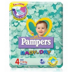 PAMPERS BABY DRY MAXI