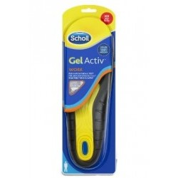 scholl gel active work uomo