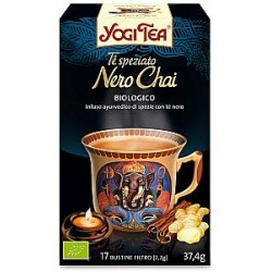 yogi tea speziat nero chai bio