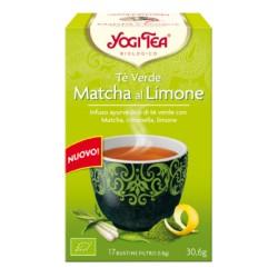 Yogi tea Verde Matcha al limone