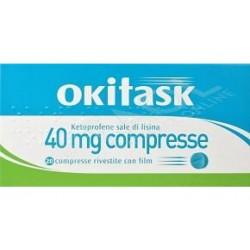 OKITASK*20CPR RIV 40MG