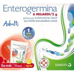 ENTEROGERMINA*os soluz 10 bust 6 mld/2 g