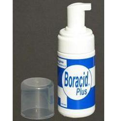 BORACID PLUS schiuma detergente intima