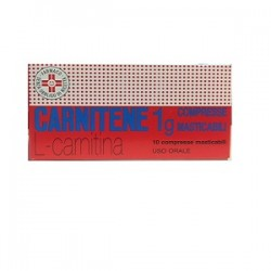 CARNITENE*10 cpr mast 1 g