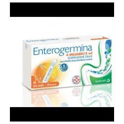 ENTEROGERMINA*os soluz 20 flaconcini 4 mld/5 ml