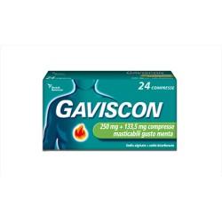 GAVISCON 24 compresse masticabili menta