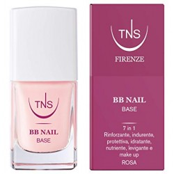 tns BB nail base rosa per unghie