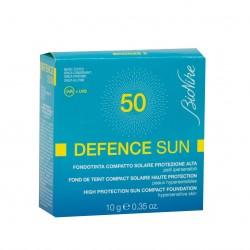 BIONIKE DEFENCE SUN 50+ fondotinta compatto Bronz