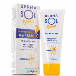 Dermasol Bimbi Crema solare spf 50+ 100ml