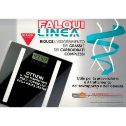 Bilancia in omaggio con l'acquisto di una confezione da 60 compresse Falqui