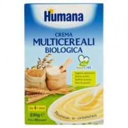 Humana Crema Multicereali Bio