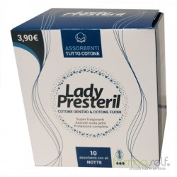 LADY PRESTERIL POCKET NOTTE CON ALI