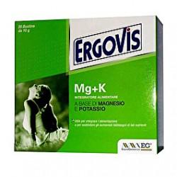 Ergovis MG+K 20 bustine 10g
