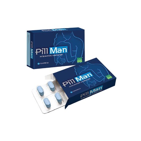 Pill man 10 compresse